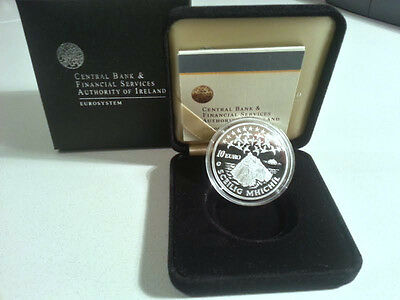 Ireland 2008 €10 Sceilig Mhichil Silver Proof Coin