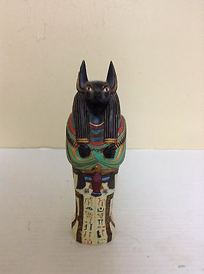 Egyptian Anubis Tomb With Mummy                                             #903