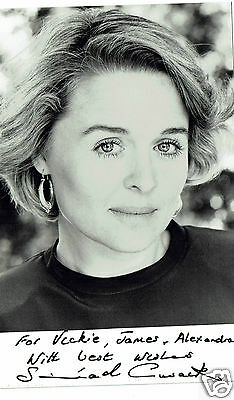 Sinéad Cusack Irish Actress Hand signed Photograph  5 x 3