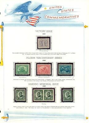 UNITED STATES COLLECTION – Regular Issues, Airmails & Commemoratives, 3 binders