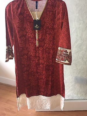 Brand New Ethnic By Outfitters Outfit *Pakistani Designer Suit*SALE*