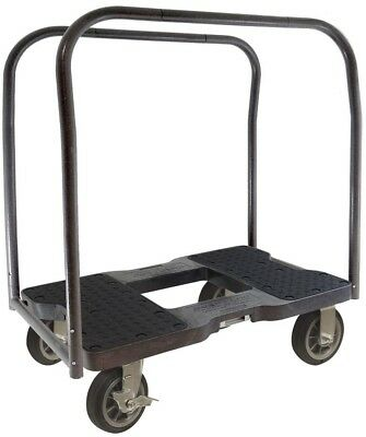 Panel Cart Dolly 1,500 lb. Capacity All-Terrain  in Black