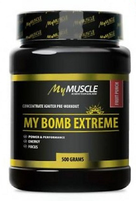 My Bomb Extreme,  Mymuscle - Conditionnement : 500 g, Parfum : multi fruits