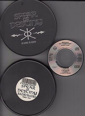 "SPEAR OF DESTENY - Radio radio - LIMITED 3"" CD von 1988 in Dose / Tin -  rar !!"