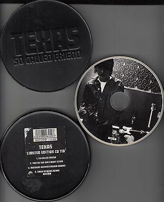 TEXAS - So called friend - LIMITED MAXI CD von 1993 in Dose /Tin - rar !!