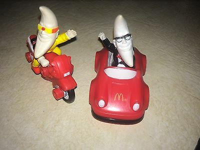 Mac The Night Mcdonalds Toys  Awesome Collectible Lot Of 2!