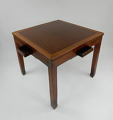 Gorgeous Chinese Hand made Rosewood Mahjong/ Game table 42.25 inches.