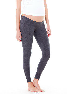NWT Ingrid & Isabel Active Low-Rise Legging Gray Heather Maternity  SMALL