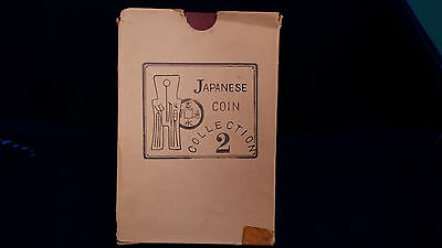 *Circa 1950s* Isoto and Co. LTD Japanese Coin Collection 2 *OLD JAPANESE COINS!*