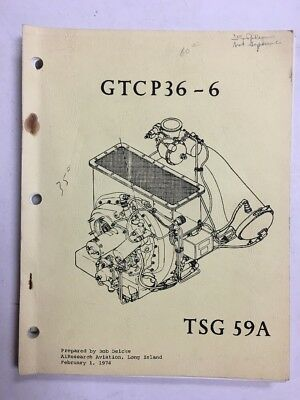 GTCP36-6 Airesearch Training Information Manual