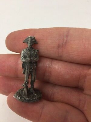 Franklin Mint Revolutionary War Soldier Pewter Prototype