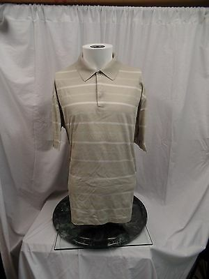 NIKE TIGER WOODS Golf Polo Shirt Double Mercerized Cotton Men's Large L