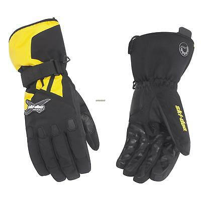 Ski-Doo Men's Sno-X Gloves - Yellow