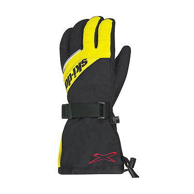 2018 Ski-Doo Men's X-Team nylon gloves - Sunburst Yellow