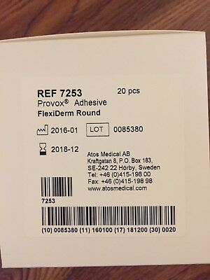 ATOS Medical, PROVOX Adhesive FlexiDerm Round, number 7253