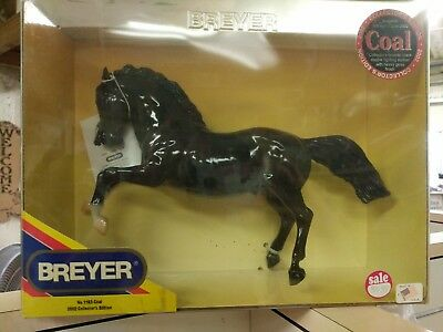 Breyer #1163 Fighting Stallion Coal Glossy Dapple Black Nib
