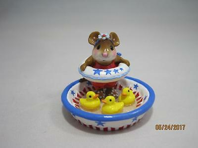 Wee Forest Folk M-278a Ducky Dip Limited Edition 2013 - Retired New in Wff Box