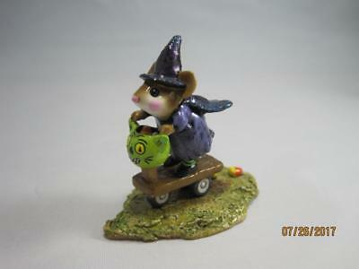 Wee Forest Folk Scootin' with the Loot - Limited Edition Purple - WFF Box