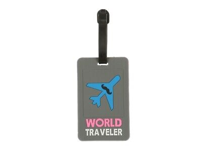 Colorful & Fun Transportation Themed Travel Suitcase ID Luggage Tag