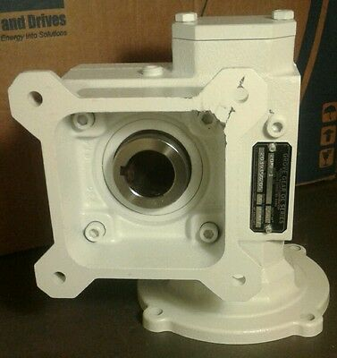 New Grove Gear Worm Speed Reducer Oe Series 20Mf-1 .563Hp 50:1Ratio 1750Rpm