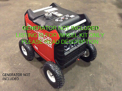 "Predator 3500 Watt Inverter Generator Allterrain 10"" Pnuematic Wheel Kit **new**"