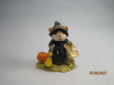 Wee Forest Folk Witchy Boo - Retired in WFF Box
