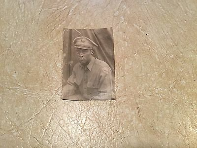 Original PHOTO WW2  NAMED AFRICAN AMERICAN  Soldier FROM  HARLEM NEW YORK