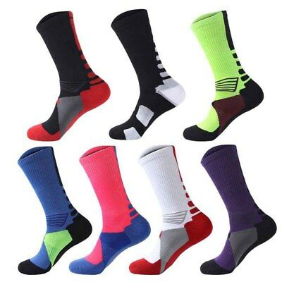 Men's Sports Cotton Ankle Socks Casual Basketball/ Badminton/ Cycling Long Socks