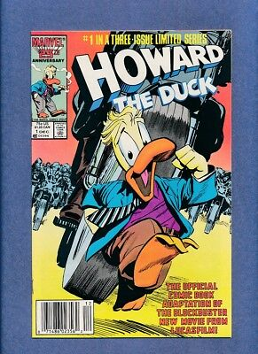 Howard the Duck #1 and #2 VF+ to NM Ltd. Series Pair