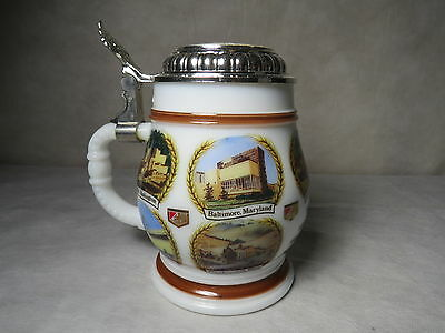 G. Heileman Brewing Company Beer Stein Mug Brewery Pictures - Made in Germany