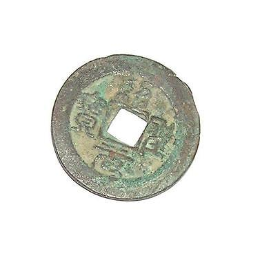 CURRENCY Asia Genuine Circulated Unusual Money ANCIENT CHINESE COIN