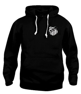 Retro Santos 1950-70 Football Hoodie New Sizes S-3XL Embroidered Logo