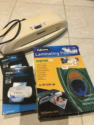 Fellowes Mars A4 Laminator With 3pk Pouches