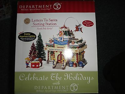 "DEPT 56 North Pole Series "" LETTERS TO SANTA SORTING STATION"" #56792   NIB"