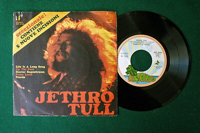 "JETHRO TULL 7"" EP 5 TRACKS raro 45 giri di stampa it. EX/NM"