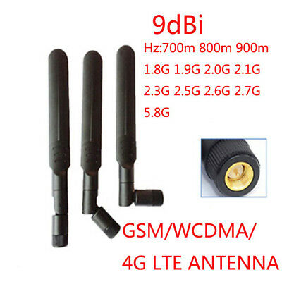 9DBi Gain Omni Antenna With SMA Male Connector For GSM WCDMA LTE 4G 2G 3G Net