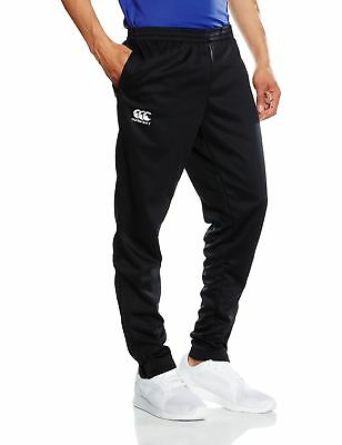 Canterbury Boys' Stretch Tapered Poly Knit Pants-Navy/Red/White 4X-Large Black