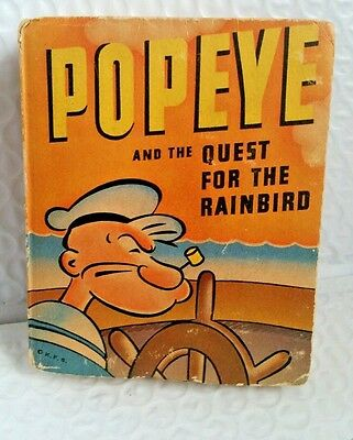 POPEYE AND THE QUEST FOR THE RAINBIRD Big Little Book 1943