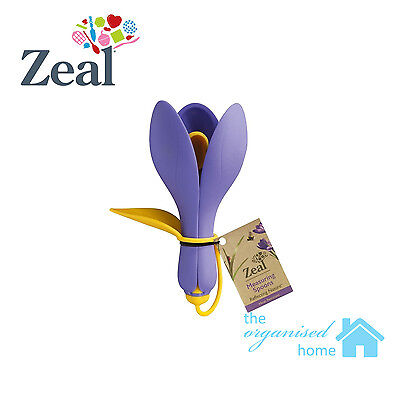 Zeal Crocus Silicone Measuring Spoon Set