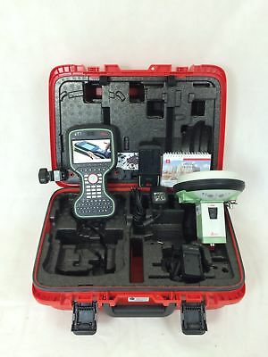 "Leica GS15 ""Professional"" GPS GNSS Rover Kit w/ CS20 Captivate Data Collector"