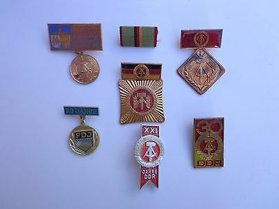German.seven Awards & Badges From Various Issues -:- Genuine.used.