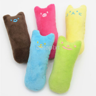 New Fancy Catnip Cat Pillow Toy Teeth Grinding Claws For Pets Funny Toys FR