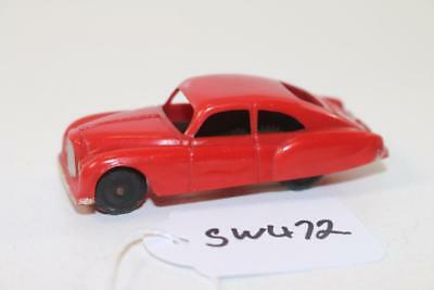 Triang Minic Push & Go Red Bentley Saloon car M.3535 FNQHobbys SW472