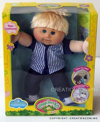 Cesar Peter January 8 Cabbage Patch Kids Doll Brand New 35Cms + Birth Cert