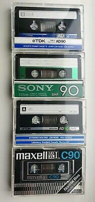 LOT22 tapes: 5 Maxell UD XL1(77), 5 SONY BHF (82), 6 TDK AD (86) , 6 TDK AD (84)