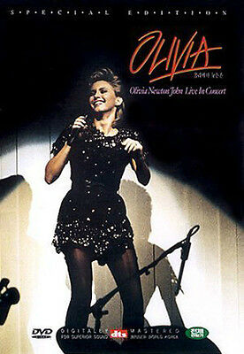 OLIVIA NEWTON JOHN - Live In Concert (1982) DVD *NEW