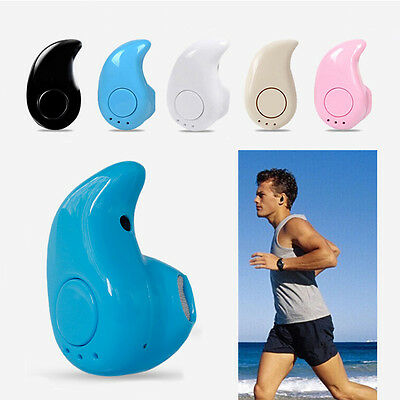 Mini Wireless Bluetooth 4.1 Stereo In-Ear Headset Earphone For Samsung IPhone