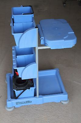 Numatic Commercial Cleaning Trolley.. as Shown.
