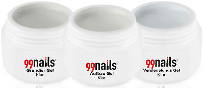 3 Phasen Gel Set - Klar 15ml