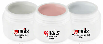 3 Phasen Gel Set - Rosa 15ml